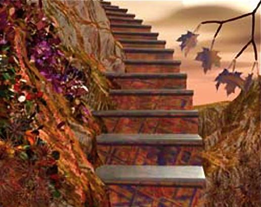 La escalera de la vida artenara for Que es una escalera